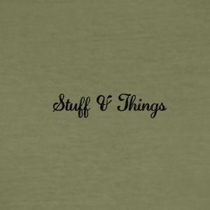 Stuff & Things - Männer Slim Fit T-Shirt