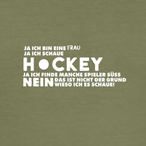Hockey - Männer Slim Fit T-Shirt