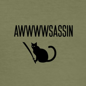 Awwwwsassin - Slim Fit T-skjorte for menn