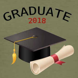 Graduate 2018 - Slim Fit T-skjorte for menn