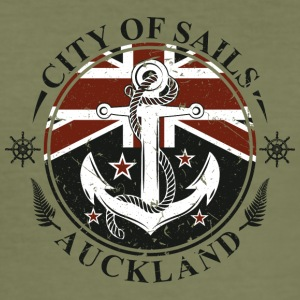 Auckland Final - Herre Slim Fit T-Shirt