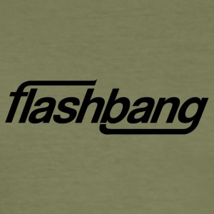 Flash Bang simple - 25kr don - Tee shirt près du corps Homme