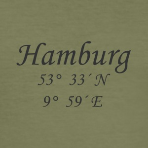 koordinater Hamburg - Slim Fit T-shirt herr