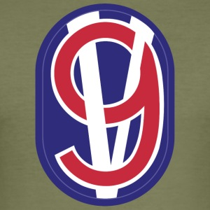 95th Training Division - Tee shirt près du corps Homme