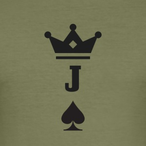Jack of Spades - Herre Slim Fit T-Shirt