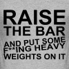 Raise the Bar - Men's Slim Fit T-Shirt
