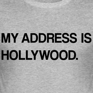 hollywood design - Männer Slim Fit T-Shirt