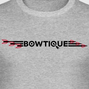 Bowtique pilar - Slim Fit T-shirt herr