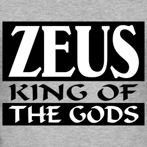 Zeus _-_ King_Of_The_Gods - Maglietta aderente da uomo