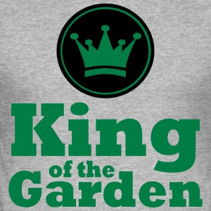 King of the Garden - Slim Fit T-skjorte for menn