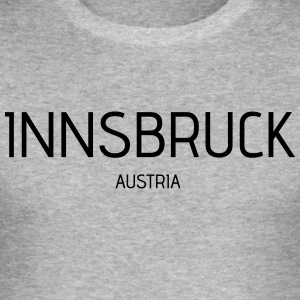 innsbruck - Men's Slim Fit T-Shirt