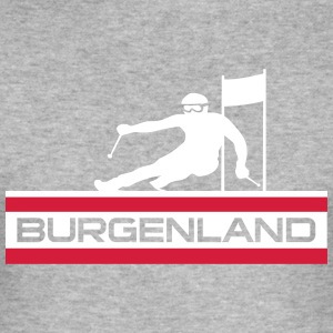 Ski Alpin_Burgenland - Herre Slim Fit T-Shirt