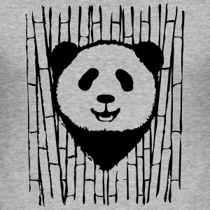 PANDA - Men's Slim Fit T-Shirt