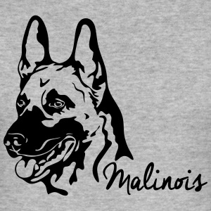 MALINOIS PORTRAIT - Men's Slim Fit T-Shirt