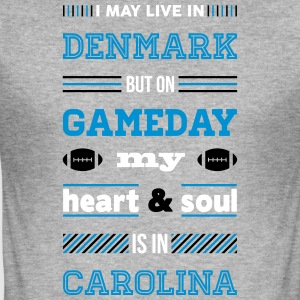 I may live in Denmark... (Carolina edition) - Herre Slim Fit T-Shirt