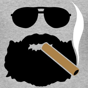 THE CIGAR BARBU - Men's Slim Fit T-Shirt