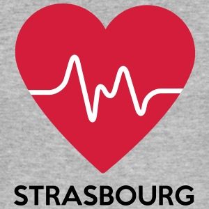heart Strasbourg - Men's Slim Fit T-Shirt