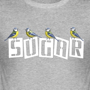 Sugar Blue tits - Men's Slim Fit T-Shirt