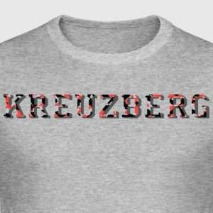 Kreuzberg camouflage - Men's Slim Fit T-Shirt