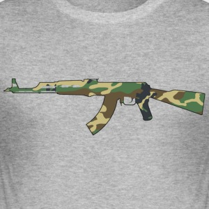 AK47 Camouflage - Herre Slim Fit T-Shirt