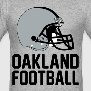 Helmet Oakland - Männer Slim Fit T-Shirt