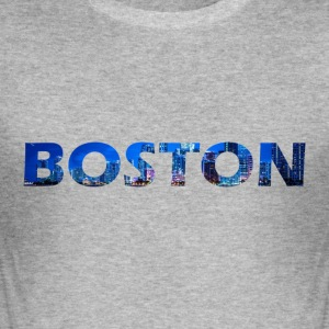 Boston - Herre Slim Fit T-Shirt