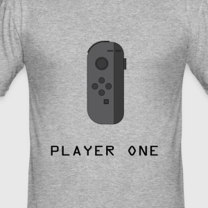 ¿Ready Player One? - Slim Fit T-skjorte for menn