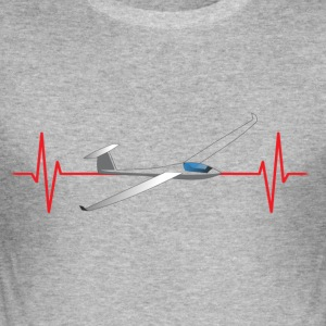 Heart Beat Gliding - Slim Fit T-shirt herr