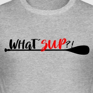 What'sup Stand Up Paddle Enthusiast? - Slim Fit T-skjorte for menn