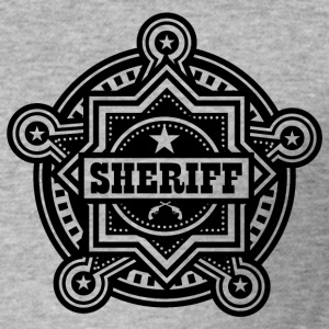 Sheriff of Marshall Badge - slim fit T-shirt