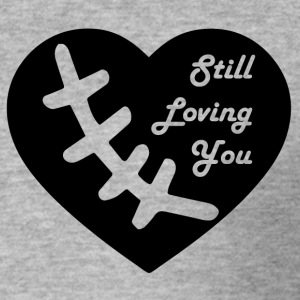 stilllovingyou blak - Herre Slim Fit T-Shirt