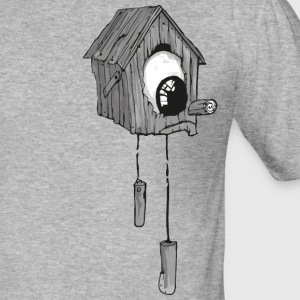 Ein Eyed Bird House. JYOOK-A002 - Männer Slim Fit T-Shirt