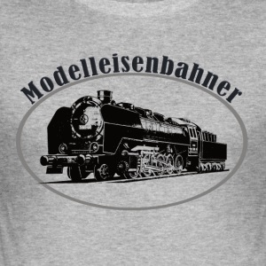 modellerere - Slim Fit T-skjorte for menn