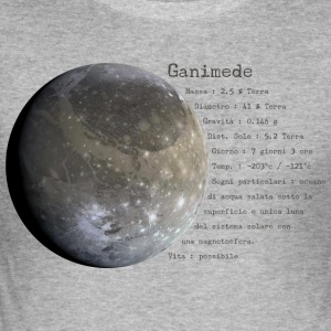 Ganymede - Herre Slim Fit T-Shirt