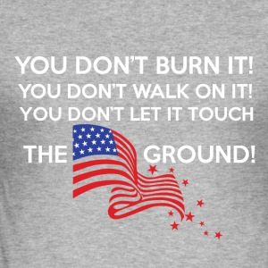 usFLAG - Men's Slim Fit T-Shirt