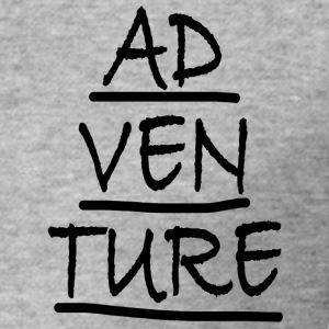 ADVENTURE - Slim Fit T-skjorte for menn