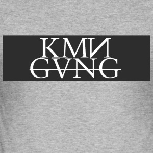 KMNGVNG - Slim Fit T-shirt herr