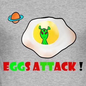 ägg attack - Slim Fit T-shirt herr