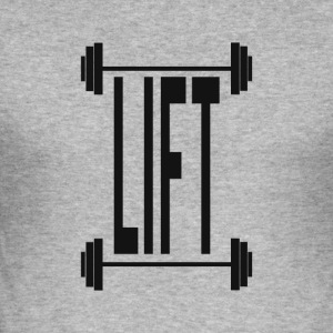 lift - Herre Slim Fit T-Shirt