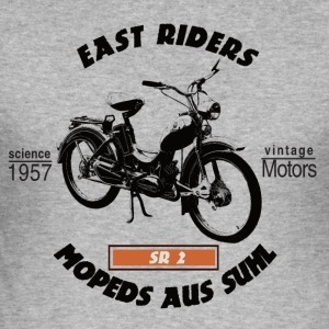 East Riders Mopeds aus Suhl - Männer Slim Fit T-Shirt