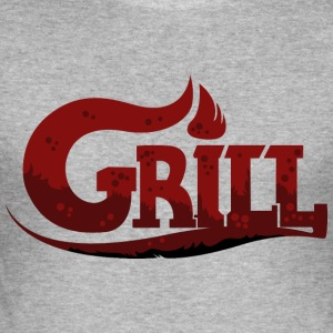 BBQ - Summer - BBQ - Men's Slim Fit T-Shirt