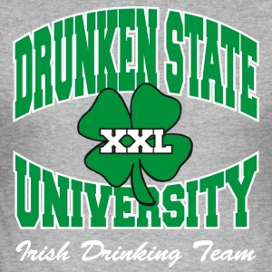 Irish Drunken State University Drinking Team - Men's Slim Fit T-Shirt