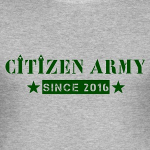 Citizen Tripad grün - Männer Slim Fit T-Shirt