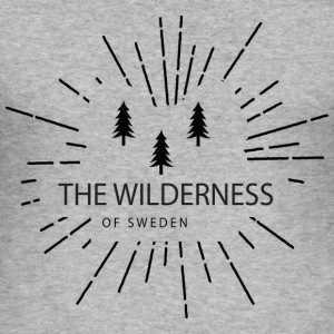 The Wilderness Of Sweden - Tee shirt près du corps Homme