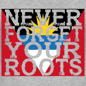 never forget roots home Antigua Barbuda - Männer Slim Fit T-Shirt