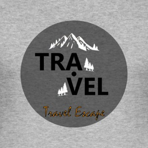 Travel + Flucht - Männer Slim Fit T-Shirt
