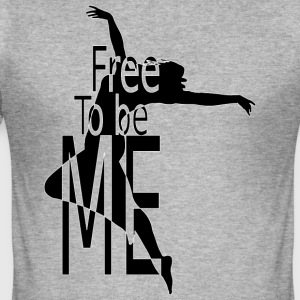 FREE_TO_BE - Herre Slim Fit T-Shirt