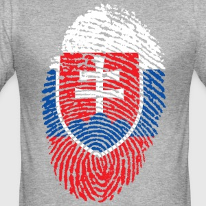 SLOVAKIA 4 EVER COLLECTION - Men's Slim Fit T-Shirt