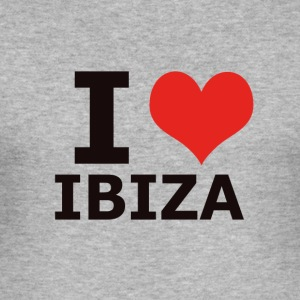 IBIZA I LOVE IBIZA - Männer Slim Fit T-Shirt