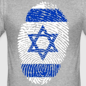 ISRAEL 4 EVER COLLECTION - Herre Slim Fit T-Shirt